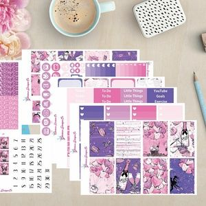 Fly me to the Moon Planner Sticker Kit